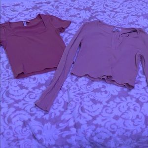 Two H&M shirts